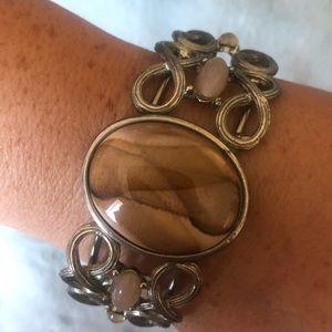 Jewelry - VINTAGE Gemstone Cuff